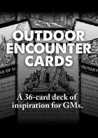 Outdoor Encounter Cards