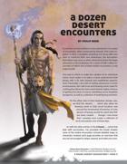 A Dozen Desert Encounters