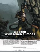 A Dozen Whispered Rumors