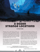 A Dozen Strange Locations