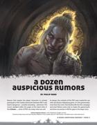 A Dozen Auspicious Rumors