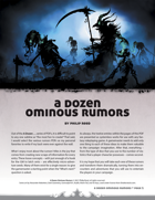 A Dozen Ominous Rumors