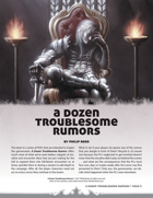 A Dozen Troublesome Rumors