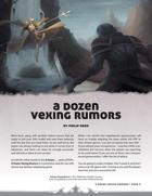 A Dozen Vexing Rumors