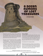 A Dozen Rumors of Lost Treasures