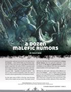 A Dozen Malefic Rumors