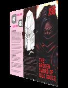 The Broken Sword of Vile Souls, A Third-Party Mörk Borg Brochure