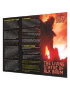 The Living Statue of Alk Baum, A Third-Party Mörk Borg Brochure