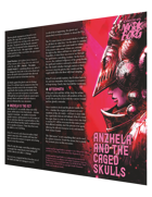 Anzhela and the Caged Skulls, A Third-Party Mörk Borg Brochure