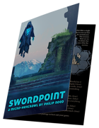 Swordpoint, A Third-Party Mörk Borg Greeting Card