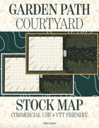 Garden Path Courtyard Commercial Use Map