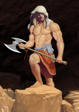 Barbarian - Full Page - Stock Art