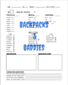 Backpacks and Baddies Playtest Character Sheet