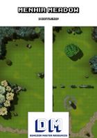 Menhir Meadow - A Battle Map
