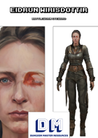 NPC Eidrun Wirisdottir - Battleworn Steward (incl. RealmWorks and PCGen files)