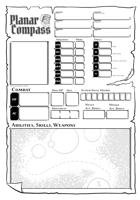 Planar Compass Character Sheet
