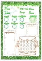 The Hedgerow Hack character sheet