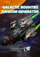 Galactics Bounties Random Generator