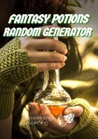 Fantasy Potions Random Generator