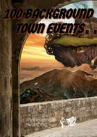 100 TOWN BACKGOUND EVENTS