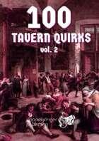 100 TAVERN QUIRKS vol.2