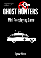 GHOST HUNTERS the PocketMod RPG