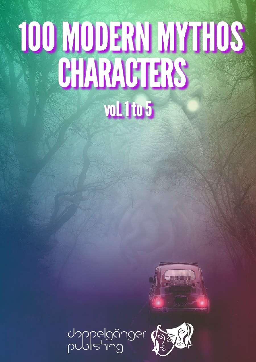 100 MODERN MYTHOS CHARACTERS vol1 to 5 [BUNDLE]