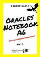 Oracles Notebook A6 + fillable PDF vol.2