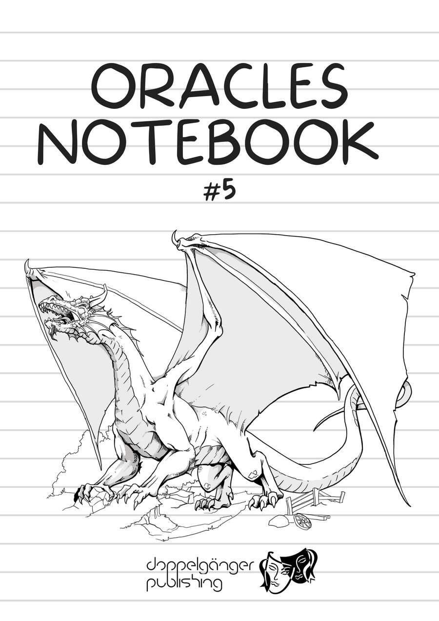 Oracles Notebook v5 (solo)+ fillable PDF