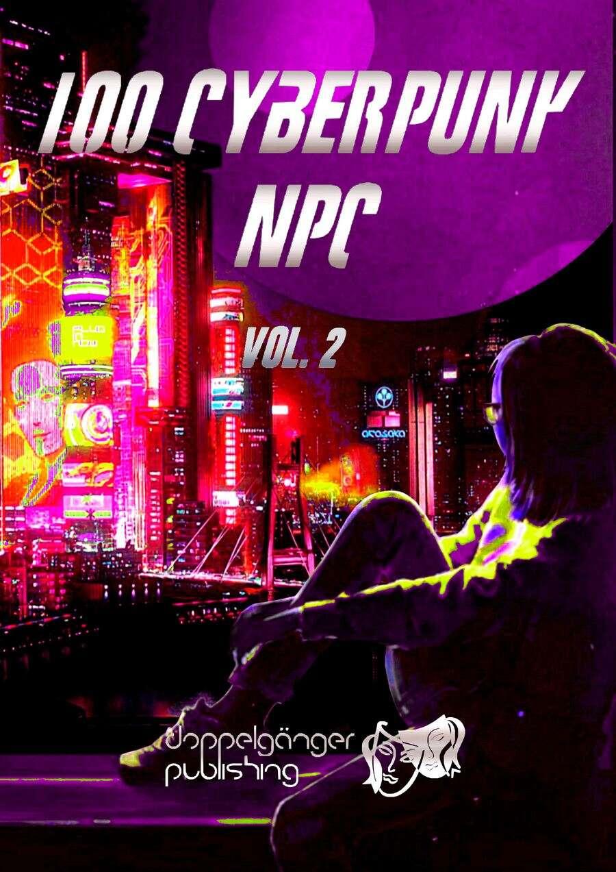 100 Cyberpunk NPC vol2