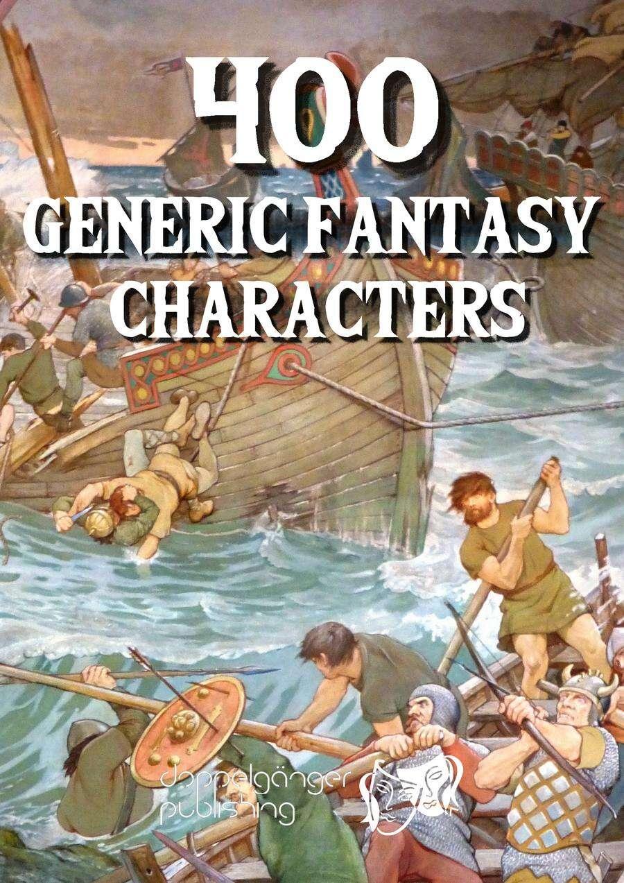 400 Generic Fantasy Characters