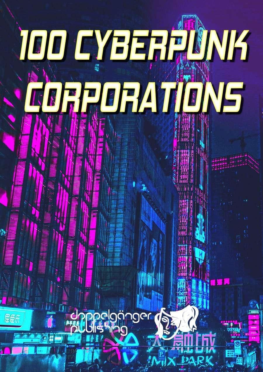 100 Cyberpunk-Corporations