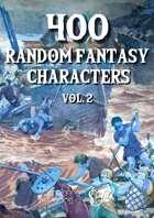400 Generic Fantasy Characters vol2