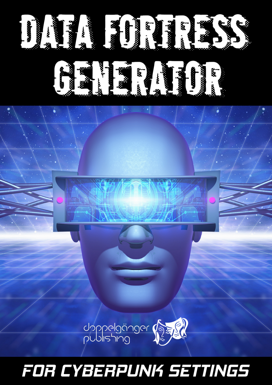 cyberpunk data fortress generator