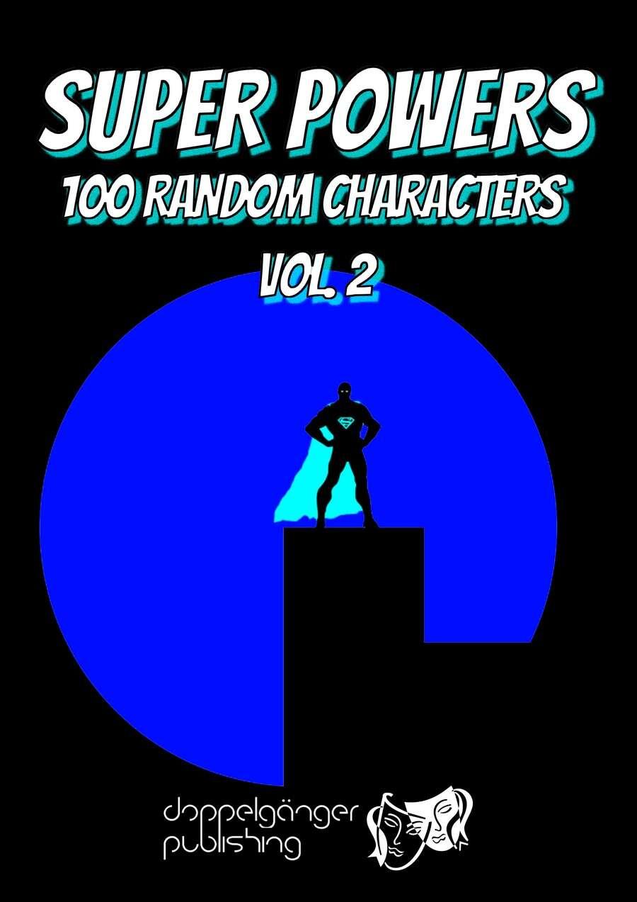 Super Powers: 100 random generic characters vol.2