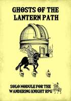 Ghosts of the Lantern Path - Solo Adventure Module