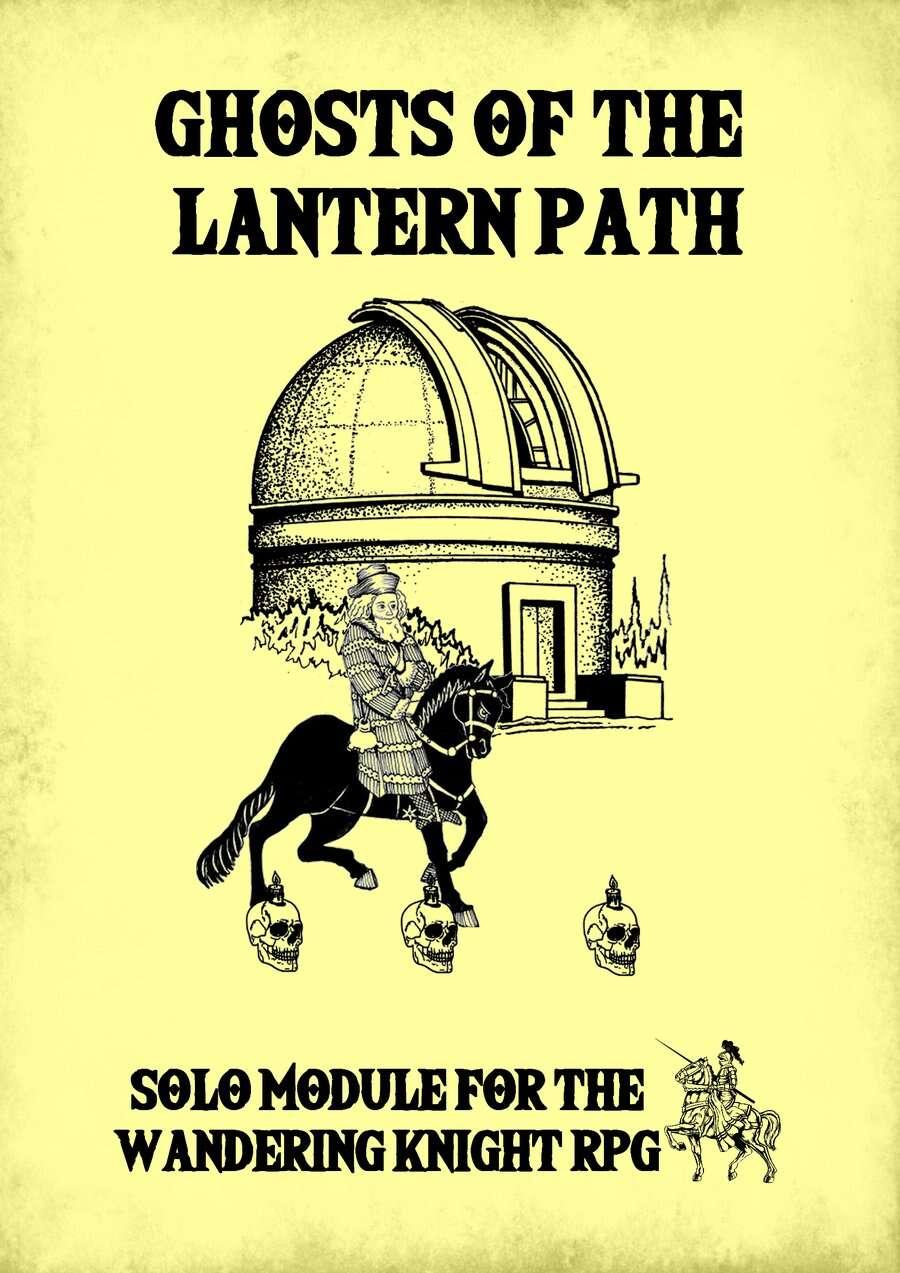 Ghosts of the Lantern Path - Solo Adventure Module
