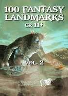 100 Fantasy Landmarks CR11+ v2