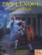 Pax Lexque Campaign Guide