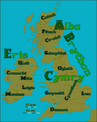 Isles of the Celts campaign setting map - hi res