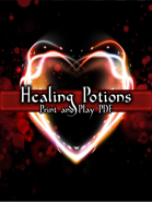 Healing Potion PnP Cards
