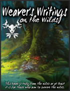 The Weavers Writings on the Wilds