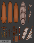 Airship Map Assets