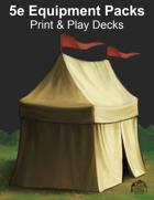 Equipment Pack - Print & Play Card Decks