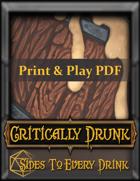 Critically Drunk