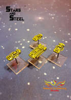 Stars and Steel miniatures - Revolutionary Group