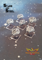 Stars and Steel miniatures - Martian Independent Heavy Cruiser Squadron