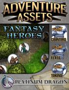 Adventure Assets - Fantasy Heroes