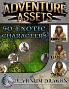 Adventure Assets - 50 Exotic Characters