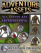 Adventure Assets - 50 Undead Horrors